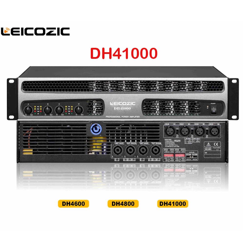 Unterhaltungselektronik Suche Nach FlüGen Leicozic Dh41000 Professional Power Verstärker 1000 Watt X 4 Kanal Verstärker 1500 Watt Rms Line Array Subwoofer Verstärker Netzteil Professionelle Audiogeräte