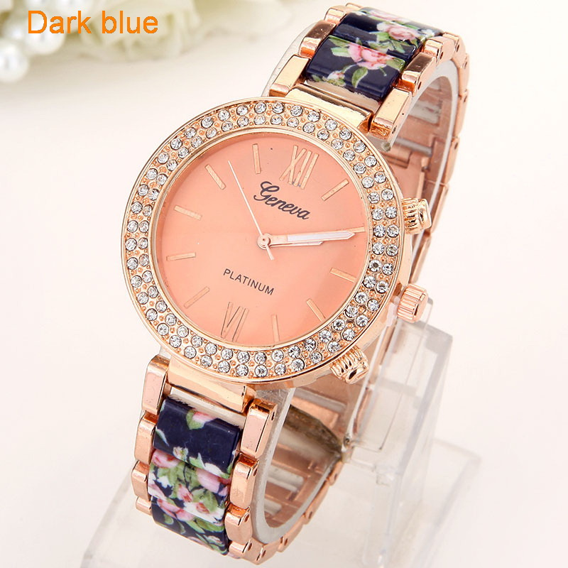 Flowers Women Watch  (1)