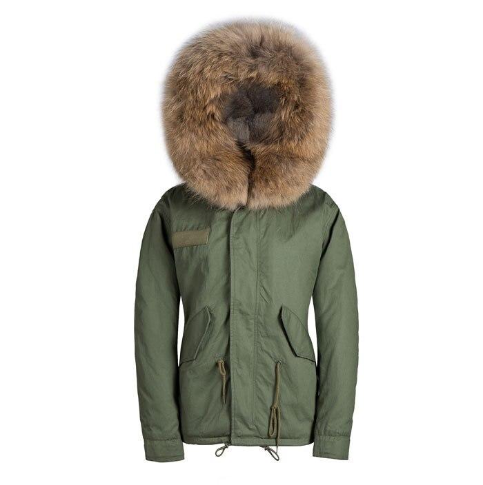 Mens Parka With Big Fur Hood