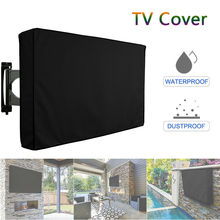 Outdoor Waterproof LCD LED TV Screen Cover Black Television