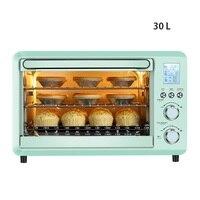 DMWD 30L ev akıllı elektrikli fırın DIY Reposteria tatlı kek makinesi paslanmaz çelik 25 menüler 220V|Fırınlar|   -