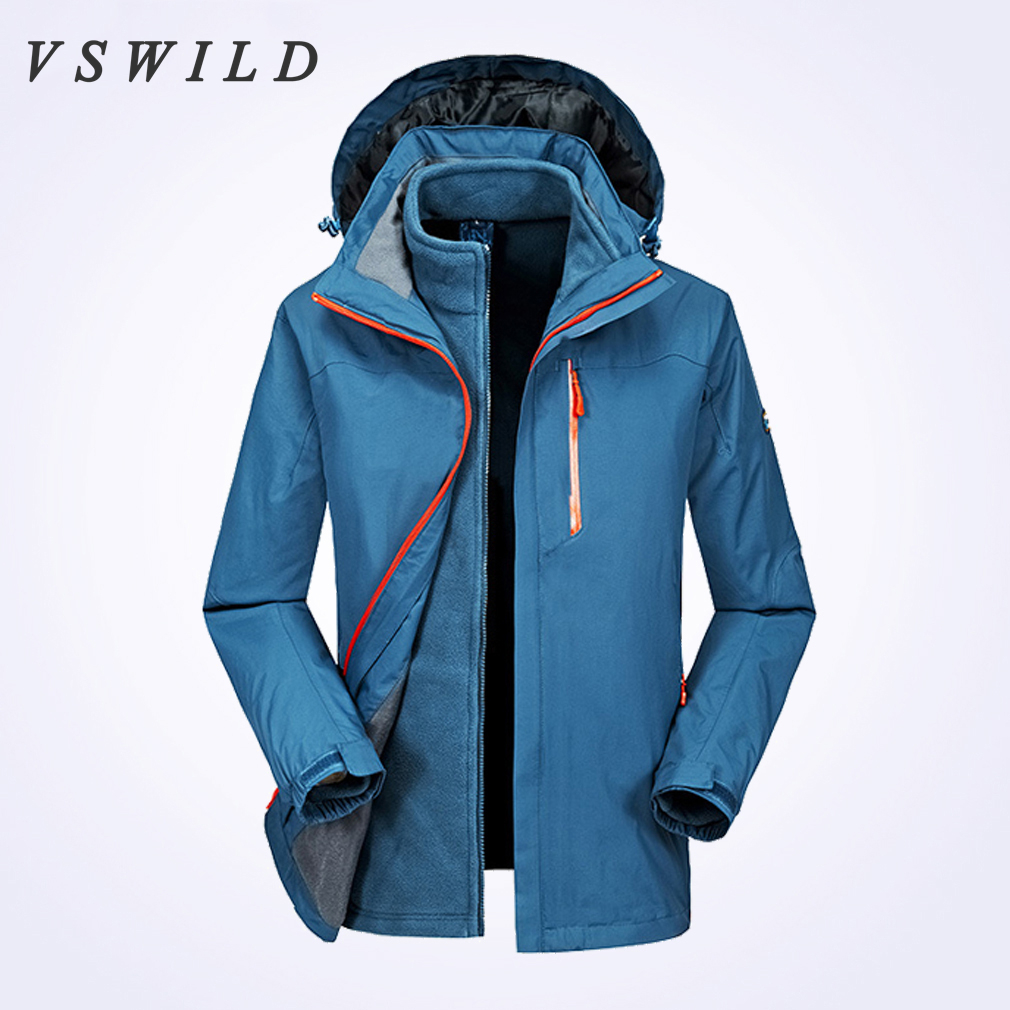 2018 Camping Coats Waterproof Men Jacket Windbreaker Autumn -Winter Outdoor Jackets Mountaineering Clothing Hiking Outerwear outdoor tactical jackets men camping hunting coat waterproof windbreaker 2016 good quality coats military jacket brand clothing