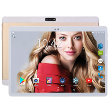 HOT SALE Android 7.0 Tablet pc 10 inch 4GB RAM 64GB ROM IPS 1280*800 Dual Cameras 3G GPS Smart Phone 10 inch Tablet pcs