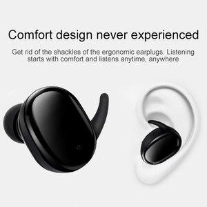 Image 4 - タッチ Bluetooth イヤホン TWS ワイヤレスヘッドフォンミニインナーイヤー Hd ステレオハンズフリーヘッドセットノイズキャンセルのため xiaomi iPhone