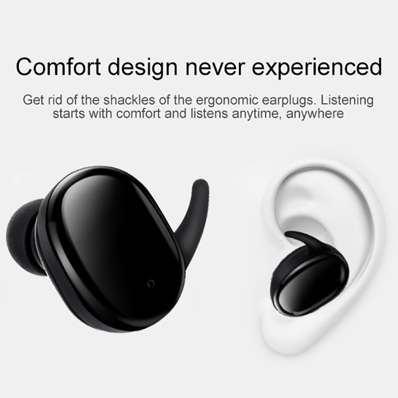 Image 4 - Fingerprint Touch Bluetooth Earphone TWS Wireless Earphones Ear pods Sport Earbuds HD Stereo Handfree Headset Noise Cancelling-in Bluetooth Earphones & Headphones from Consumer Electronics