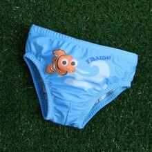 Детские Плавание одежда мальчиков Плавание ming Мужские шорты для купания малышей Купальник с героями мультфильмов для маленьких мальчиков ванный Комплект для мальчиков Плавание треугольные Трусы-шорты пляжные трусы