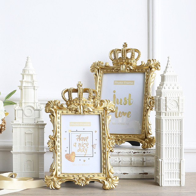 Online Shop 1pcs Hanging Photo Frames Resin Embossment Palace Hotel ...