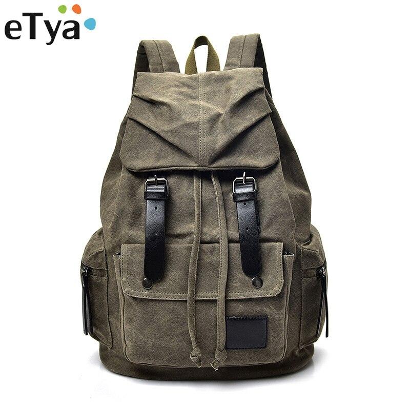 eTya Travel Men Women Large Capacity Backpacks Shoulder Bag Mens Womens Casual Travel Bag Backpack Fashion Canvas BageTya Travel Men Women Large Capacity Backpacks Shoulder Bag Mens Womens Casual Travel Bag Backpack Fashion Canvas Bag