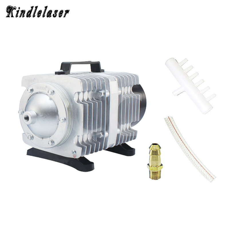 ACO-009D 135W Air Compressor Electrical Magnetic Air Pump for CO2 Laser Engraving Cutting Machine Laser Air Compressor 44mm black sterile dial green marks relojes 6497 mens mechanical hand winding watch luminous armbanduhr cm164bk