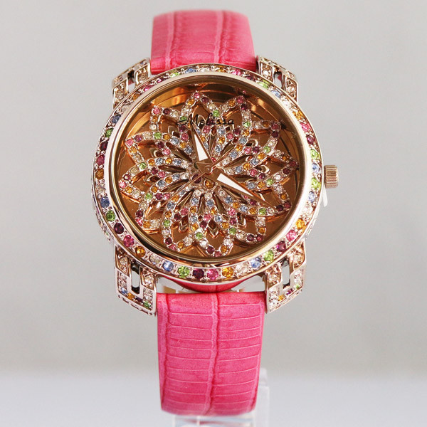 MELISSA HOT SALE Floral Watch Vintage Fashion Colorful Crystals Wristwatch Vogue Girls Party Dress Watch Feminino Montre F11484 hot horloge new desigh hot sale colorful boys girls students time electronic digital wrist sport watch 2017may10
