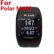 Protector de pantalla para Polar M400 M430, protectores de pantalla prémium PET para Polar M430 y M400, reloj inteligente deportivo fácil de instalar