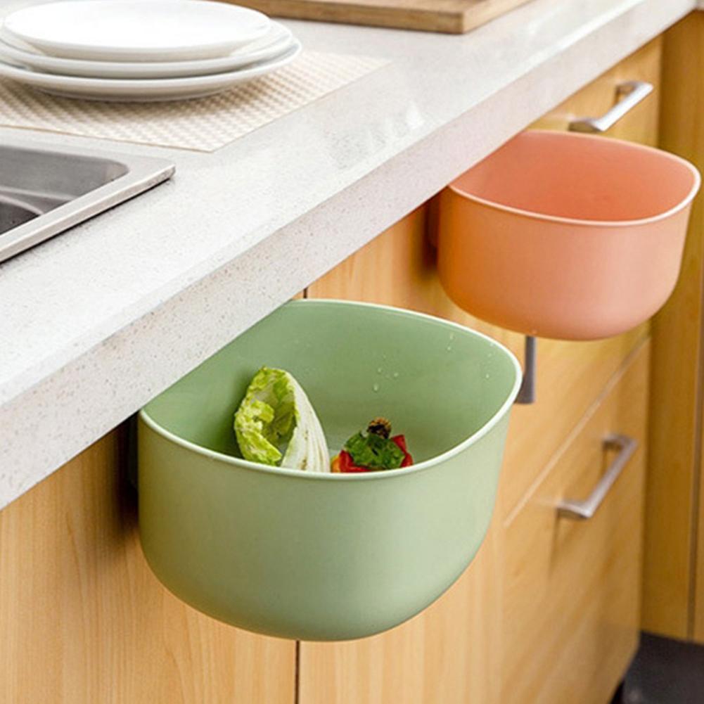 Kitchen Cabinet Hanging Garbage Waste Bin Can Trash Barrel ...