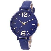 Для женщин наручные часы так жарко! Превосходное Женева Для женщин Искусственная кожа аналоговые кварцевые наручные часы M5254