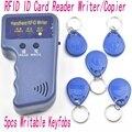 Handheld 125 Khz RFID Copiadora Escritor/Duplicadora Copiadora Cartão De IDENTIFICAÇÃO + 5 pcs etiquetas T5577 Regravável