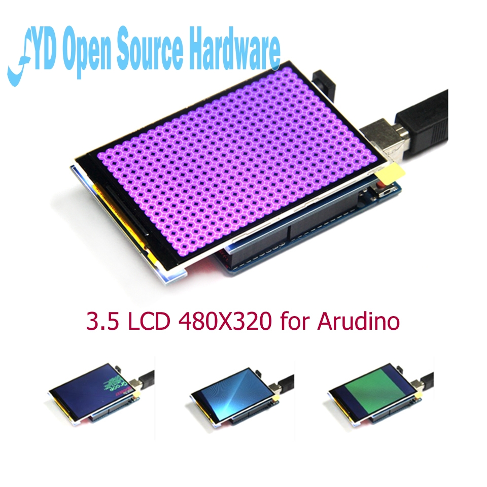 3.5 Inch TFT LCD Screen Module Ultra HD 320X480 For  MEGA 2560 R3 Board