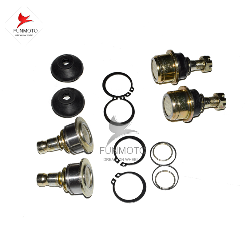 one set 4PCS A Arm ball joint for HISUN 400 500ATV QUAD ALSO ALSO FIT SUPERMACH