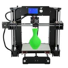 High Precision Anet A6 3D Printer Acrylic Frame Cheap Reprap Prusa i3 Desktop 3D Printer DIY Kit Large Print Size 220*220*250mm new coming anet 3d printer diy large printing size precision reprap prusa i3 3d printer kit diy with free filaments