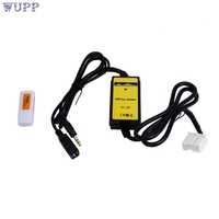 AUTO Car Accessory NEW AUX Input MP3 CD Interface Adapter Changer USB Cable Reader For Honda
