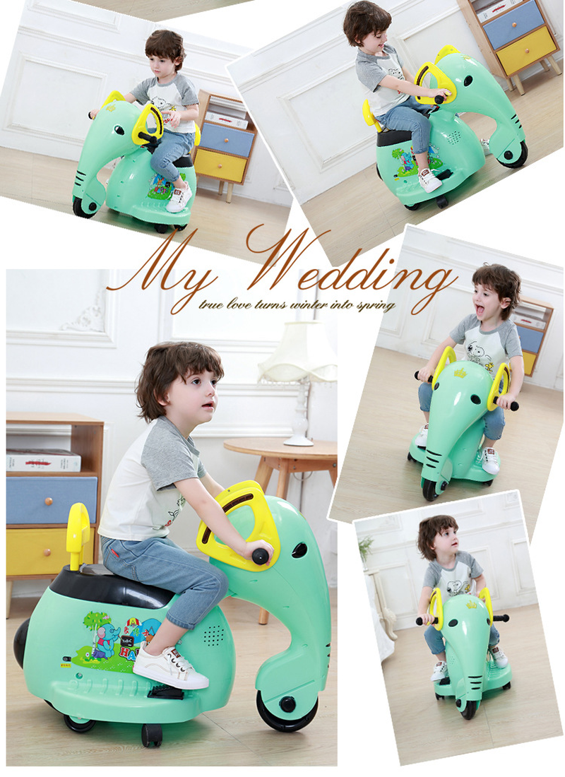 2019 éléphant enfants moto électrique 1-8 ans bébé jouet voiture enfants monter sur voiture tour électrique sur moto voitures pour enfants - 4