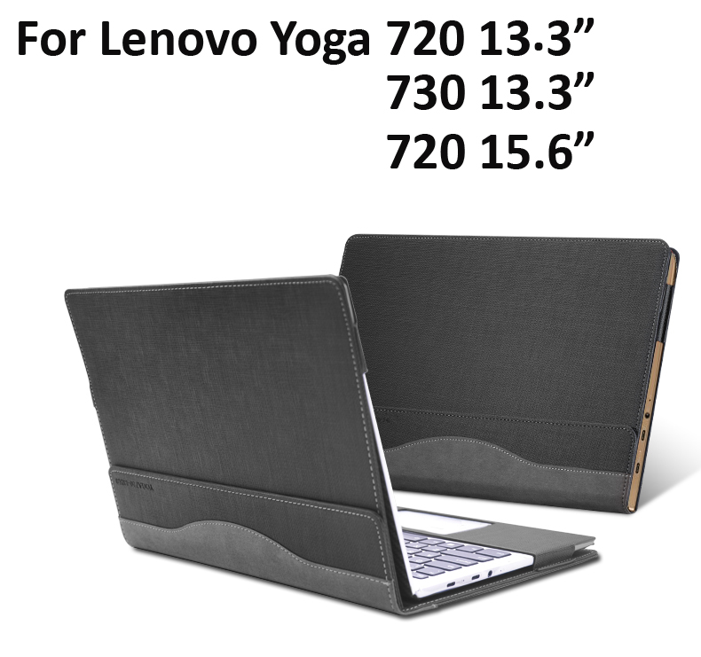 Creative Design Laptop Case Cover For Lenovo Yoga 720 730 13.3 Sleeve PU Leather Notebook protective skin For Yoga720 15.6 inch