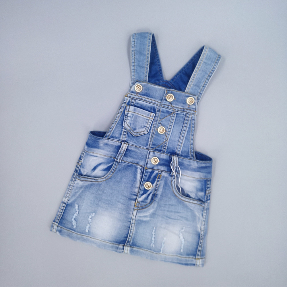 Chumhey 9M-7T Baby Sundress Toddler Girl Suspender Dress Summer Denim Girls Jeans Overalls Dress Kids Clothes Bebe Clothing spring new princess kids toddler girl denim dress kid little girl suspender dress baby clothes mermaid dress free drop shipping