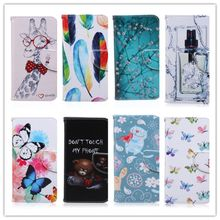 Cute Cartoon Butterfly Plum Blossom Leather For Samsung S5 Flip Cover Samsung Galaxy S5 Case Wallet