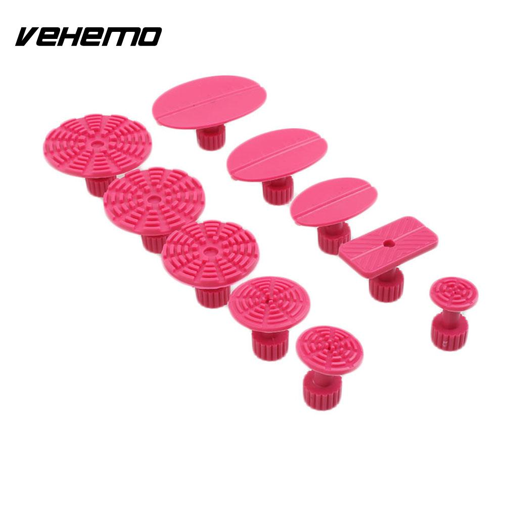 Vehemo Car Slide Hammer T Bar Puller Tools 10pcs Red Drawing Removable Accessories ...