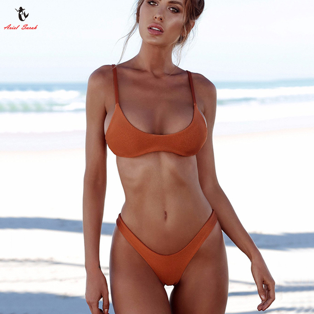 5dbb0d9803 Ariel Sarah Marca 2019 Push Up Bikini Costumi Da Bagno Delle Donne del  Costume Da Bagno