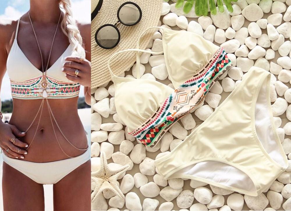 Swimwear Women Swimsuit Push Up Swimwear Female 19 Sexy Bandeau Bikini Ladies Brazilian Beach Bathing Suit bandage Bikini Set 23