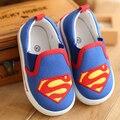 Venta caliente Niños zapatos para niños y niñas, clásico (KT cat/superman/spiderman) kids fashion sneakers zapatos ocasionales del niño