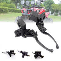 Front Brake Lever 50-250CC Cylinder Hydraulic Pump Motorcycle Universal Scooter Clutch Dirt Bike Handle Accessories Quad Moped