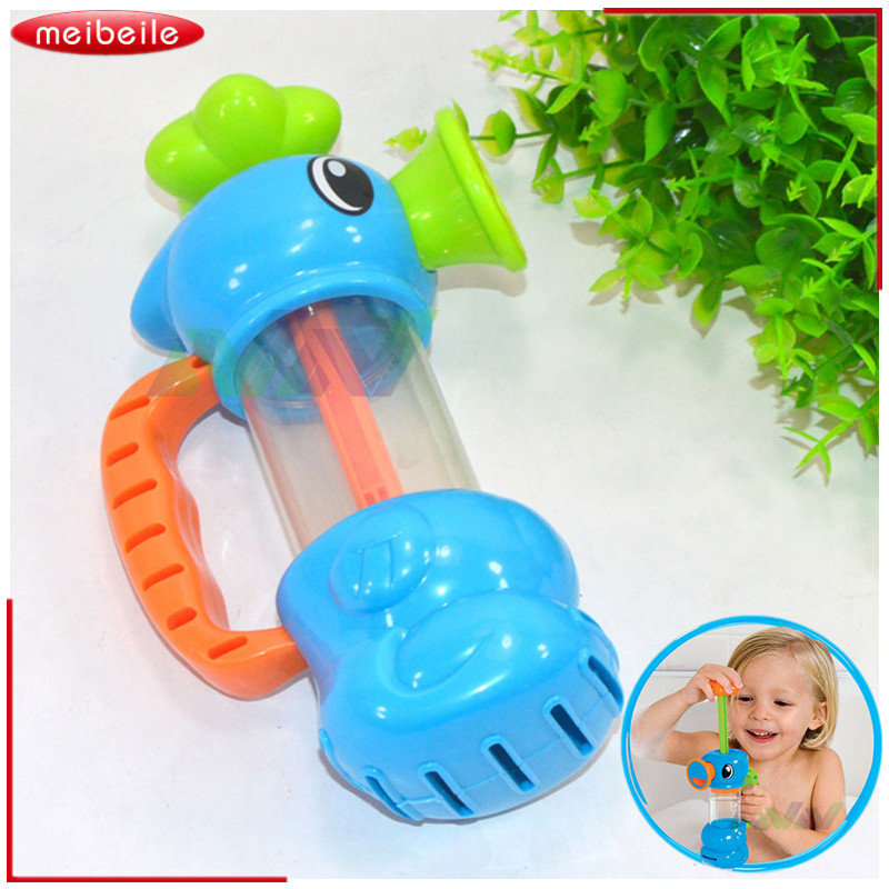 2016 Hot Baby Bath Toys Automatic Spout Play Taps Buttressed Folding ...