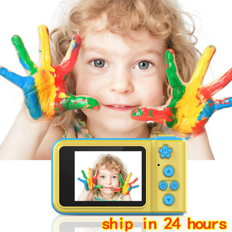Hot Toddler Toys Camera Educational Mini Digital Photo Camera Duguetes Photography Birthday Gift Cool Kids Camera For Children