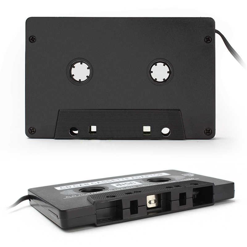 New カーカセットテープのアダプタカセット Mp3 iphone 用の ipod 用 MP3 AUX ケーブルへの CD プレーヤー 3.5 ミリメートルジャックプラグ