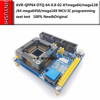 ATMEL AVR-QFP64 OTQ-64-0.8-02 ATmega64/m...
