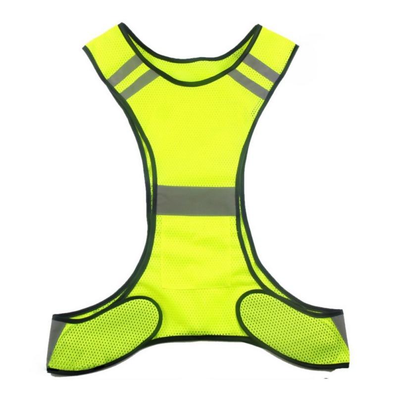 2017 New <font><b>LED</b></font> Glow Night Run Riding Outdoor Reflective Safety <font><b>Vest</b></font>