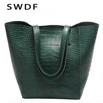 SWDF brand Bags Handbags Women Famous Brand Snake Crossbody For Shoulder Messenger Bag Designer Leather