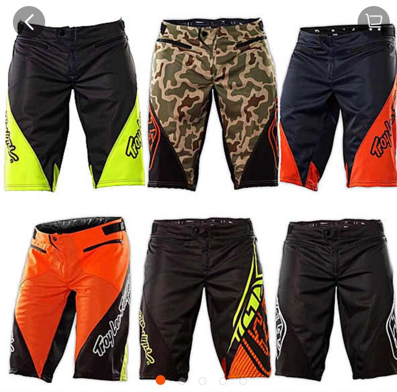 T-6 color bicycle riding off-road shorts quick-drying downhill suit racing off-road sports outdoor shorts