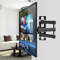 "KKmoon TV Monitor Wall Mount Full Motion Arm Swivel Level Television Bracket LED LCD TV Stand Holder VESA 75/100/200 14"" to 37"""