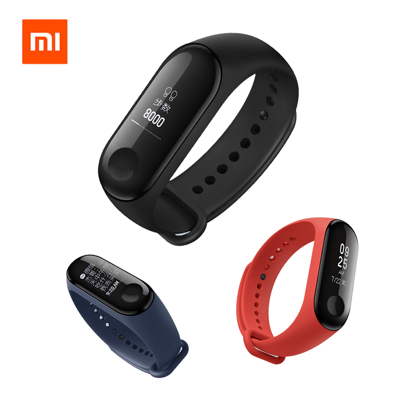 Original Xiaomi Mi Band 3 Smart Bracelet Waterproof 0.78 inch OLED Instant Message Caller ID Weather Forecate Miband 3 Update 2 in stock original xiaomi mi band 3 0 78 inch oled instant message caller id weather forecate vibration clock mi band 2 upgrad