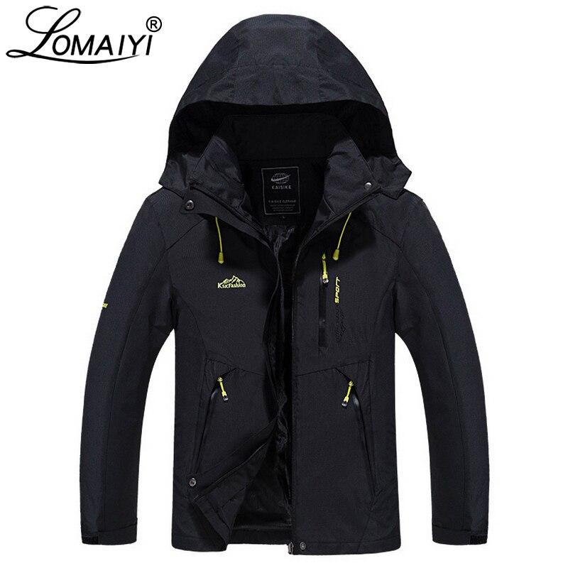 LOMAIYI Brand Male Casual Jacket Men Women Spring Autumn Work Windbreaker Coat Plus Size 4XL 5XL Waterproof Men's Jackets AM257