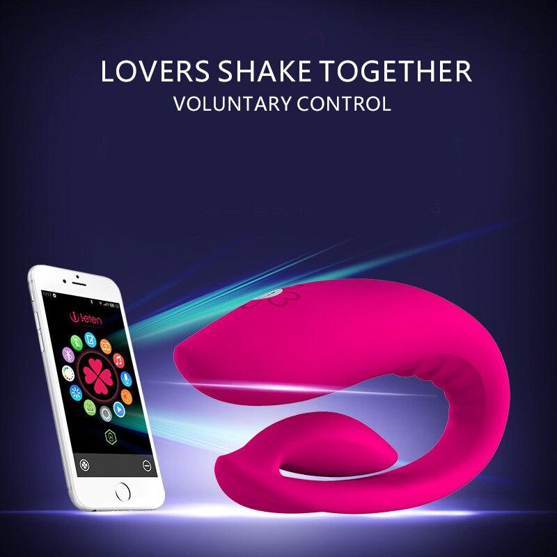 Vibromasseur Intelligent APP Bluetooth gode G Spot vibrateur, stimulateur de Masturbation masseur vibrateurs de Machine de sexe pour femme