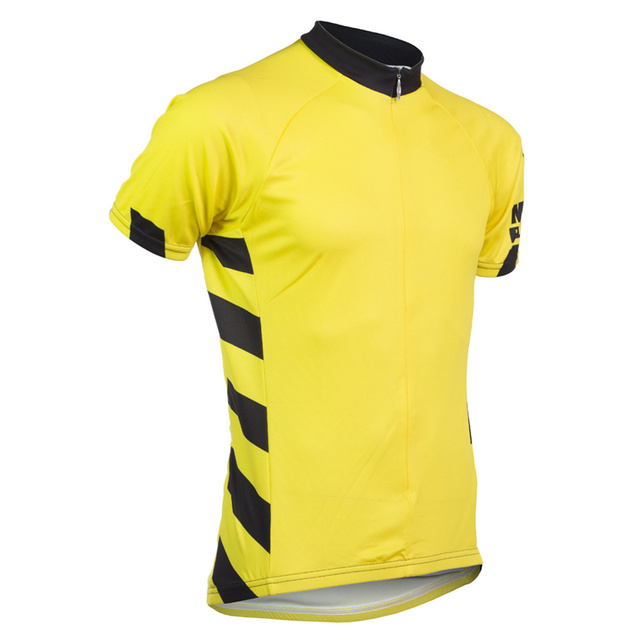 2a6c73888 Simple design Short Sleeve Cycling Jersey Men Road Bicycle Clothes Tops  Breathable quick dry for Summer Maillot Ciclismo