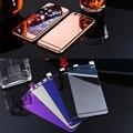 2 ШТ. Фронт + Назад Закаленное Стекло Для iPhone 5 5s 5SE Полное Покрытие Экрана Протектор Зеркальный Эффект Красочные Защитная Пленка Розовое золото