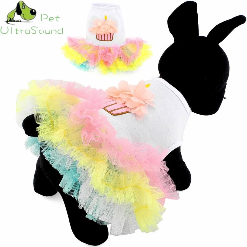 ULTRASOUND PET Fargeløs Sweet Puppy Dog Prinsesse Skjørt Pet Dog - Pet produkter