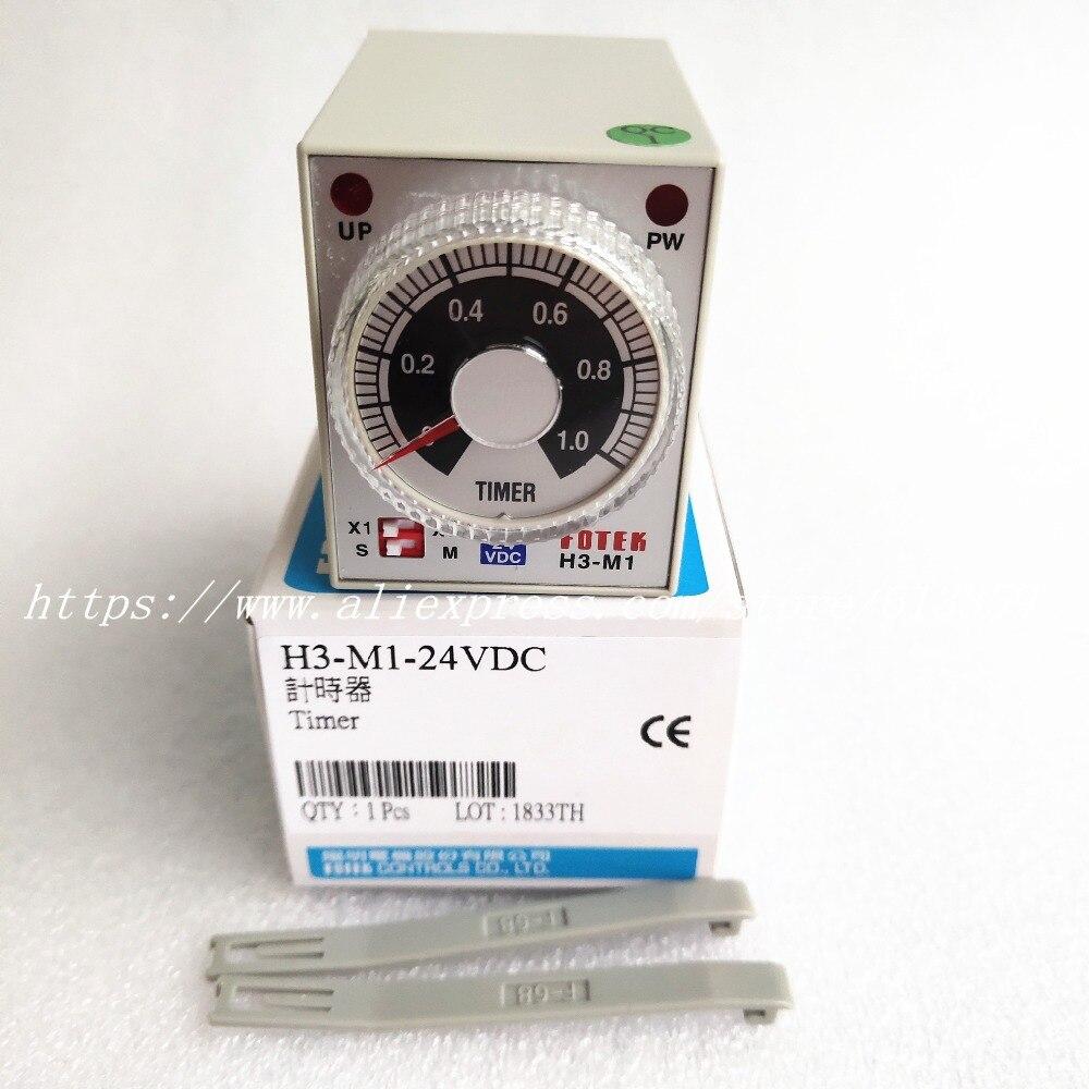 H3-M1-24V Timer FOTEK 100% New & Original  H3-M1-24VDCH3-M1-24V Timer FOTEK 100% New & Original  H3-M1-24VDC