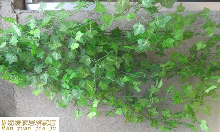 novelty home wall decor wall hanging plant vine artificial silk