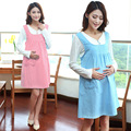 maternity clothing 2016 Fall Fashion dot maternity dress pregnant womendresses long-sleeved dress big yards pregnant women