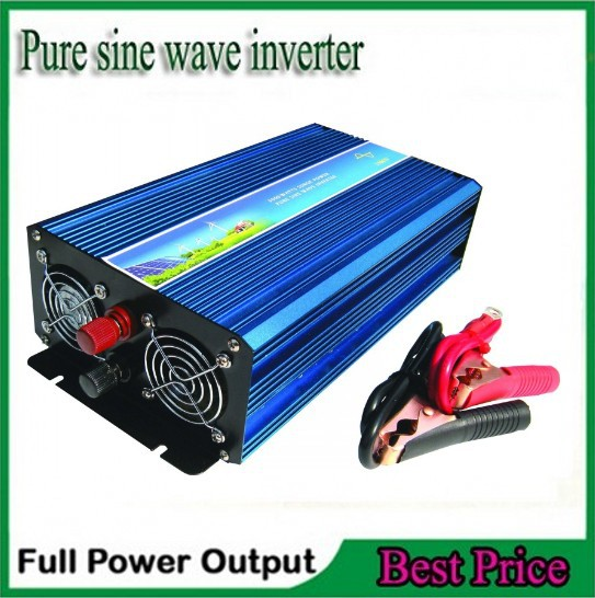 цена на peak power 5000w puro de la onda de seno inversor 2500W DC12V/24v to AC110V/AC220V digital display pure sine wave Inverter