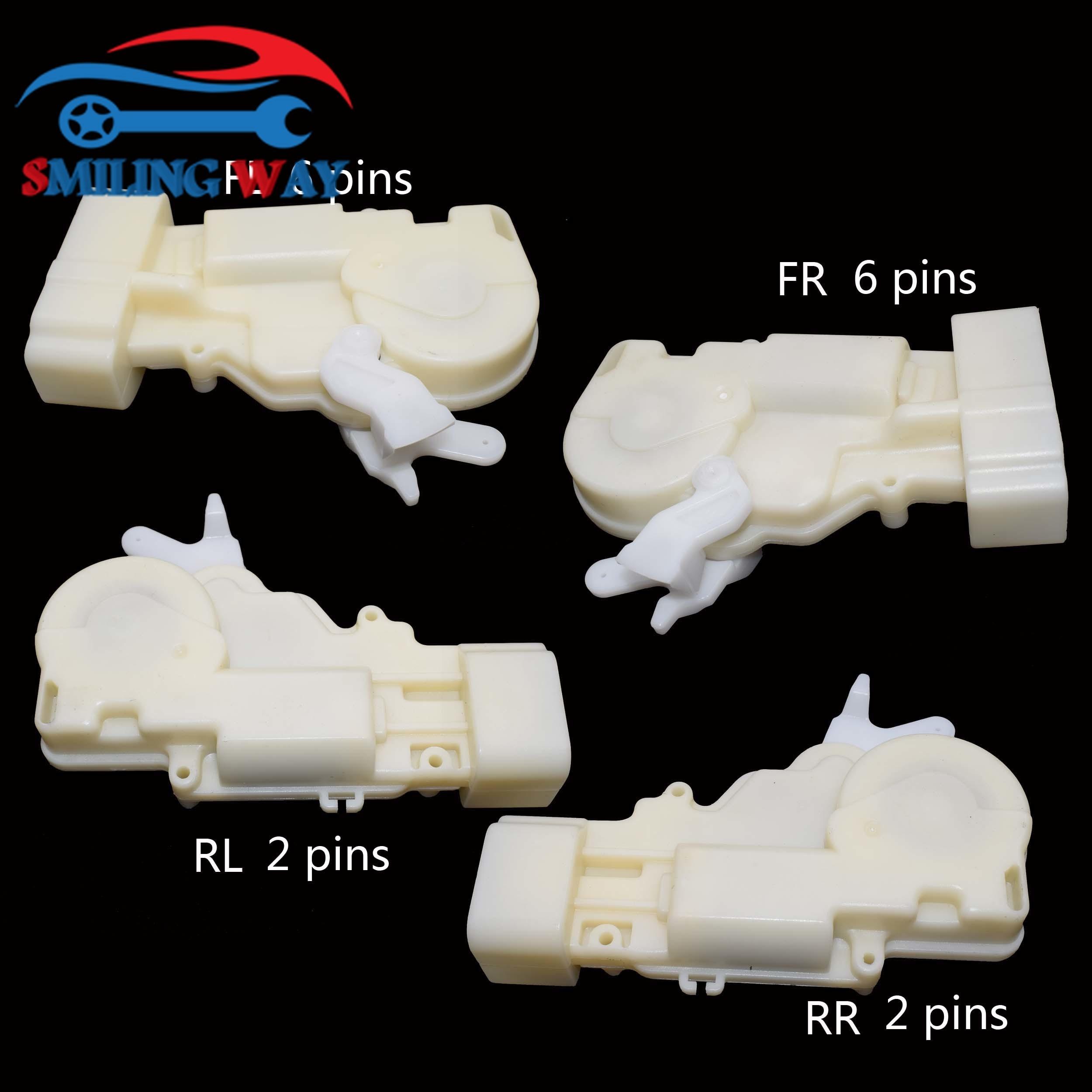 4 SIDES DOOR LOCK ACTUATOR FOR LEXUS RX300 GS300 GS430 GS400 TOYOTA PRIUS